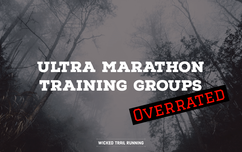 Ultra Marathon Groups Are Overrated