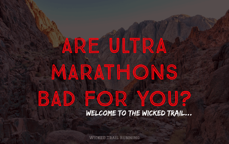 Are Ultra Marathons Bad For You? blog post cover photo