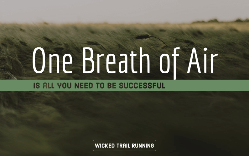 Wicked Trail Running One Breath of Air Ultra Marathon Blog Cover