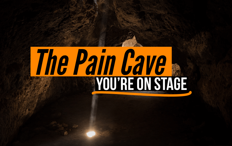 The Pain Cave   You're On Stage Cover