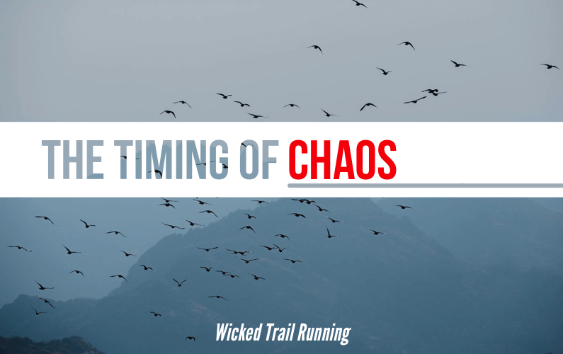 The Timing of Chaos - Wicked Trail Running Ultra Marathon blog cover photo